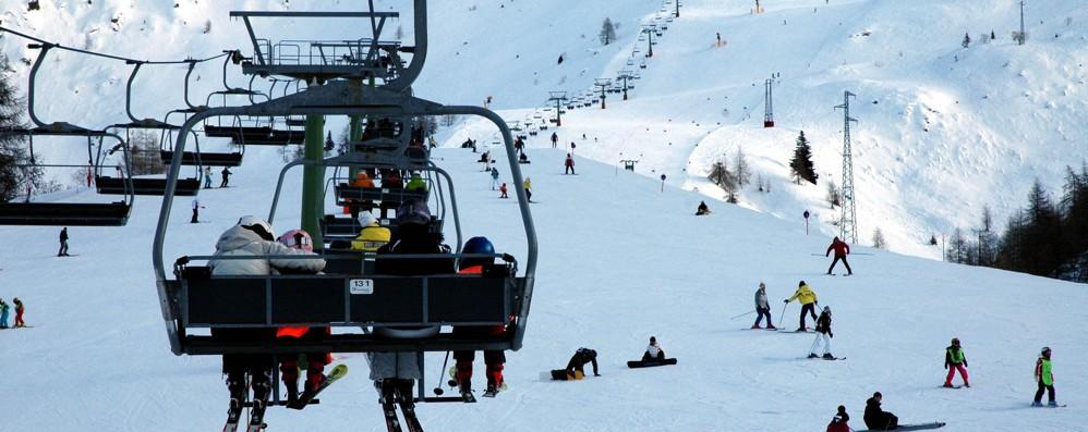 Brembo Ski, un febbraio col botto Nel futuro cabinovia da «sei minuti»