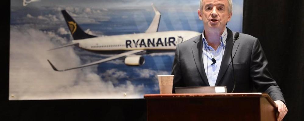 Ryanair raddoppia da Orio a Berlino O'Leary: «I leader siamo noi»