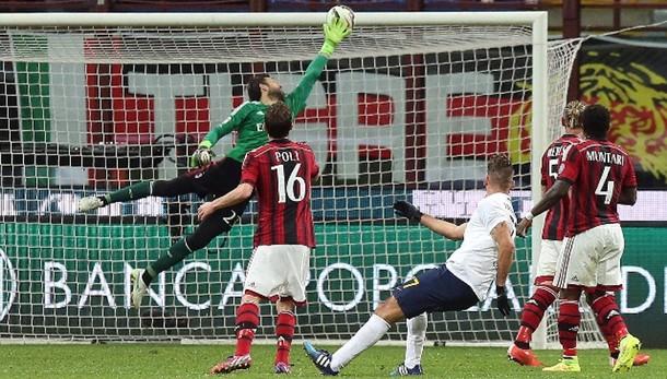 Serie A: Milan-Verona 2-2 nell'anticipo