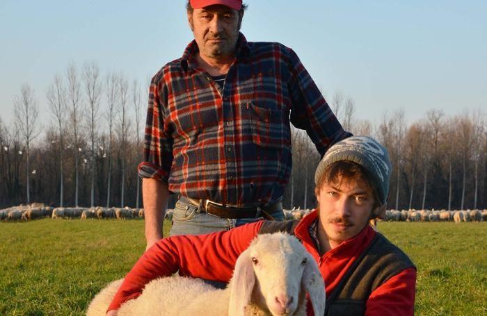 Adelmo Grassenis con il  figlio Omar
