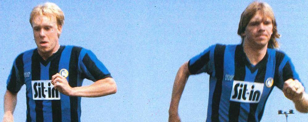 Larsson stroncato da male fulminante All'Atalanta nel 1984 con Stromberg