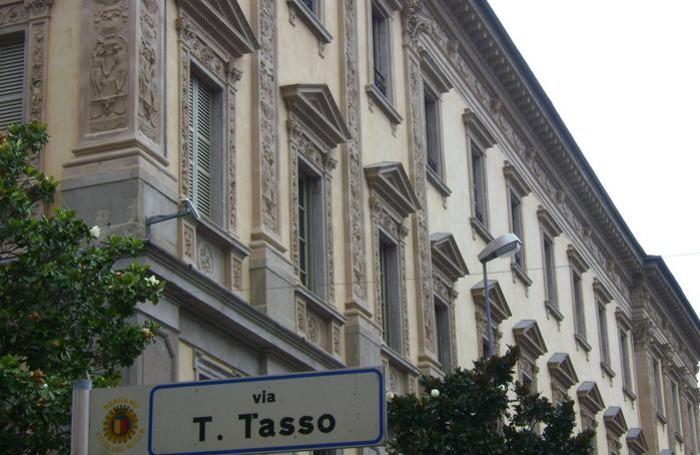 Il palazzo di via Tasso