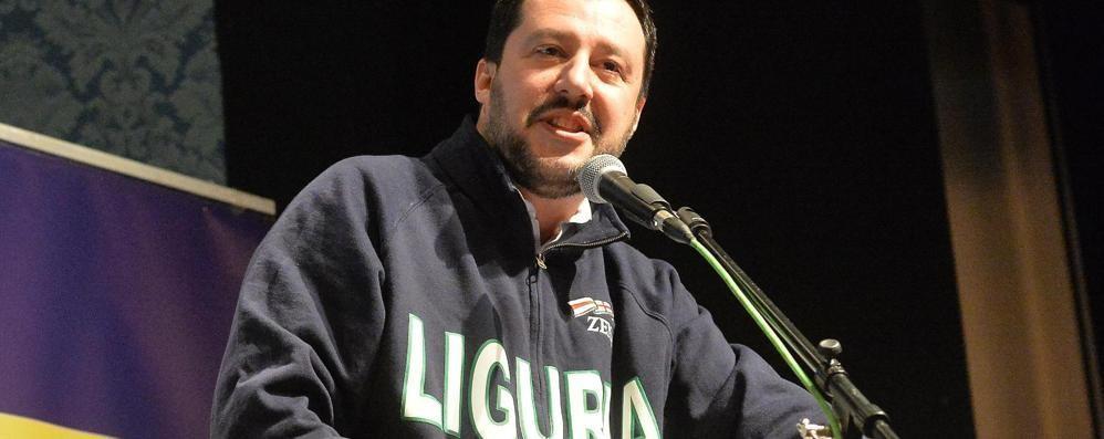 Salvini, l'unico messaggio della Lega