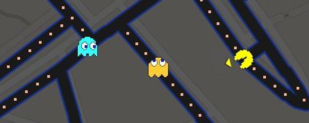 Pesce d'aprile, Google batte tutti Sulle mappe si gioca a Pac-Man - Video