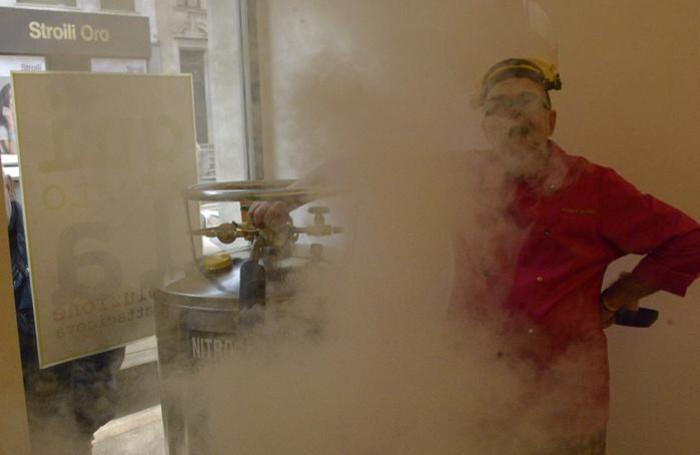 Marios Gerakis nella nebbia...