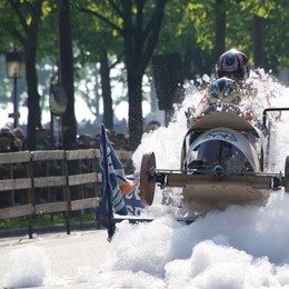 Soap Box Rally, in 30 mila sulle Mura Giornata perfetta, vince «Muttley One»