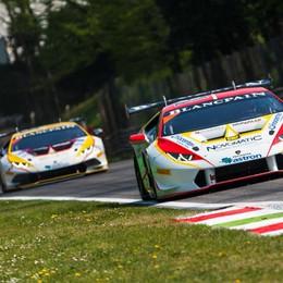 Bonaldi Motorsport ok a Monza Doppio Kujala con la Lamborghini