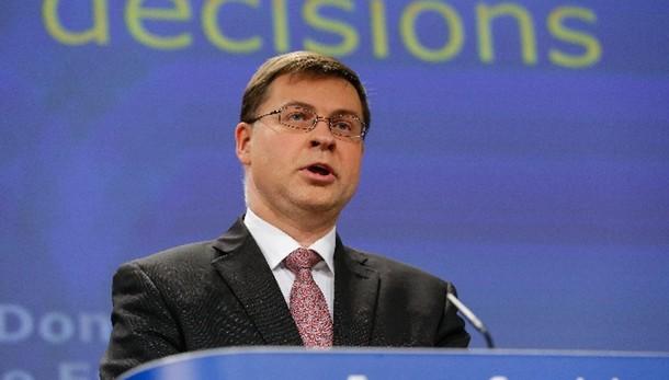 Dombrovskis, bene accelerazione riforme
