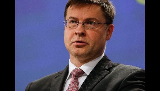 Dombrovskis, ok 'bonus' Italia