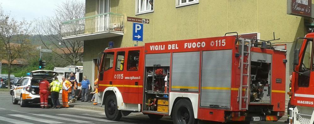 Rogo in un ristorante di via Baioni -  Foto Tutta colpa di un soufflè. Soccorso il cuoco