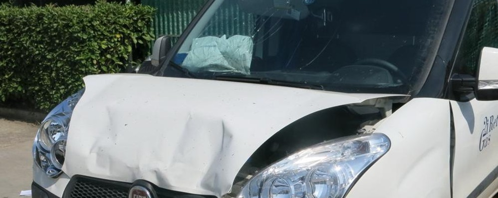 Montenegrone, scontro in galleria Traffico in tilt, ora incidente risolto
