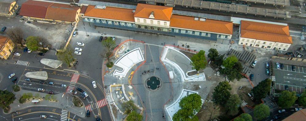 Stazione, ecco il nuovo piazzale Le prime foto. Vi piace? - Sondaggio