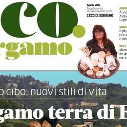 Arriva lo speciale Eco.Bergamo Tutto dedicato alla Bergamo dell'Expo