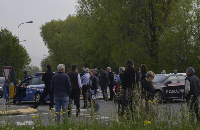 L'incidente mortale a Grassobbio