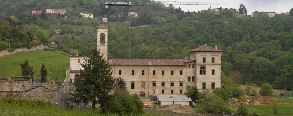 Astino, il monastero torna a splendere Via le impalcature: ecco le prime immagini