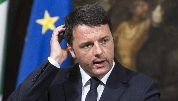 Renzi, Mare Nostrum è solo tampone