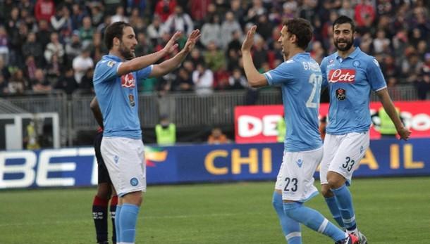 Serie A: Cagliari-Napoli 0-3