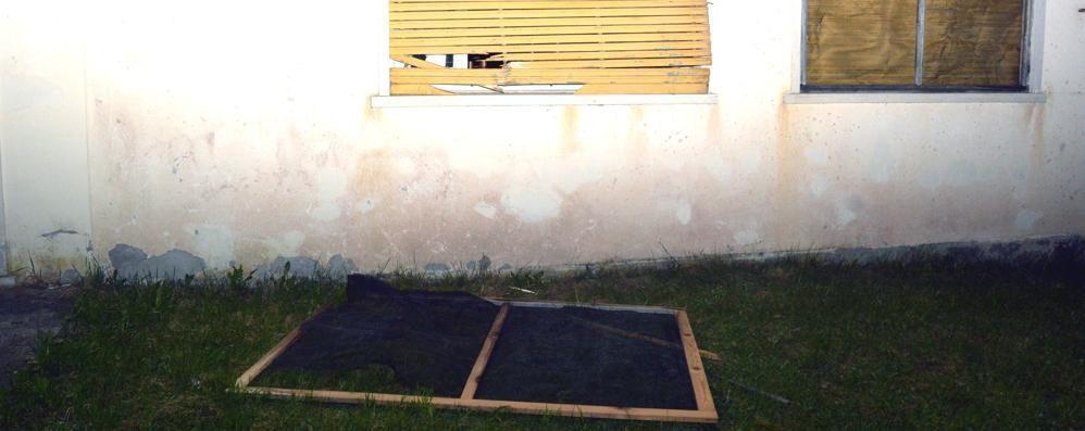 Vandali all'ex Colonia di Roncobello È la casa dove arriveranno i profughi