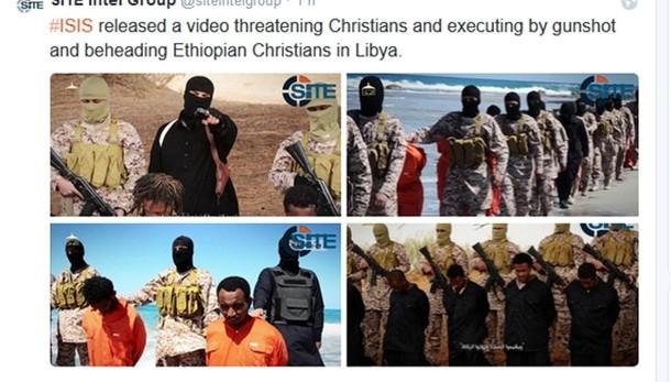 Video Isis, massacro cristiani in Libia