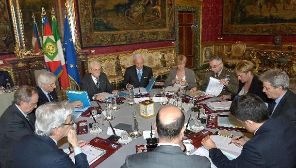 Cons. supremo Difesa, impegno su Libia