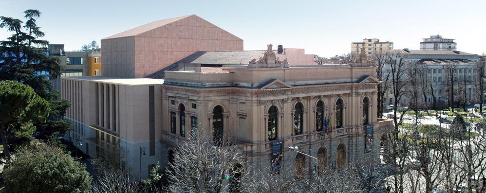 Teatro Donizetti, il gioiello rinasce Dalla Banca Popolare arrivano 2 milioni