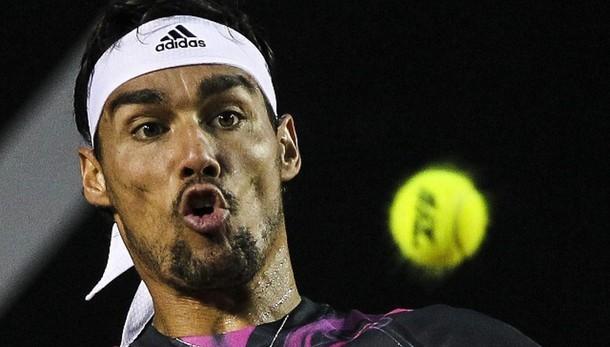 Atp Barcellona: impresa Fognini,Nadal ko