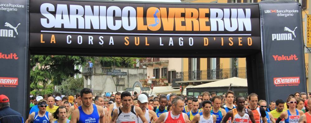 «Sarnico Lovere Run», è boom Iscrizioni chiuse: in 3.300 al via