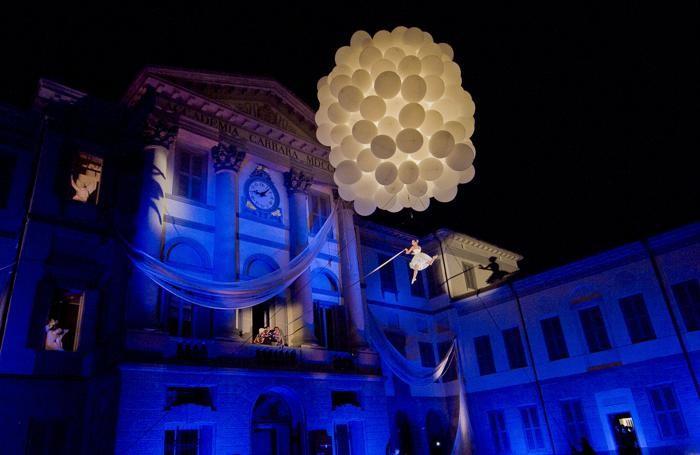L'inaugurazione dell'Accademia Carrara