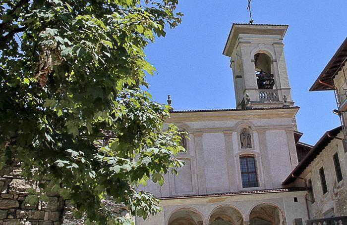 La chiesa di Astino