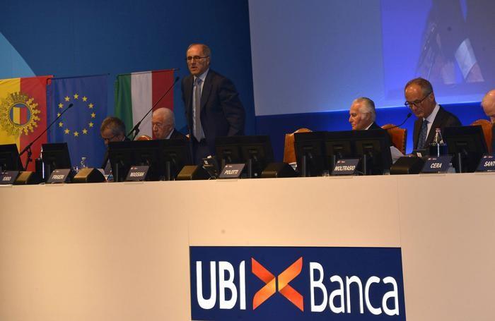 L'assemblea Ubi alla Fiera di Bergamo
