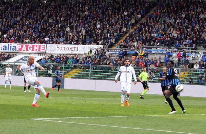 Il gol del 2-1 di Maccarone