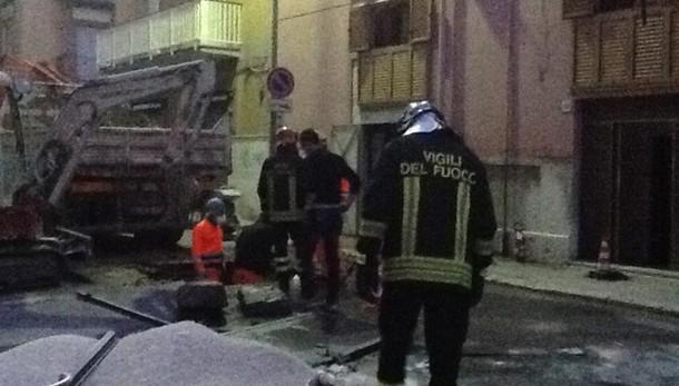 Pm Trani indaga su esplosione a Barletta