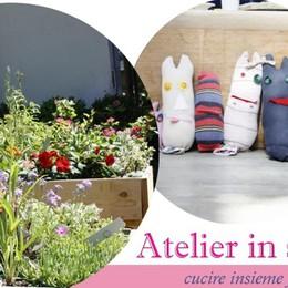 Atelier tra le piante a maggio Si cuce in serra ad Alzano