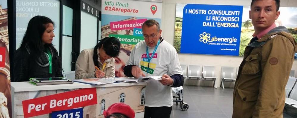 Expo, volontariXBg in azione in quattro punti d'accoglienza