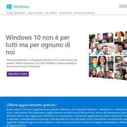 Windows 10 entro l'estate «Aggiornamento gratuito»
