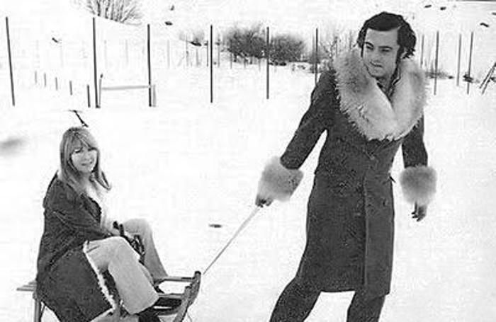 Roberto Bassanini con Cynthia Lennon