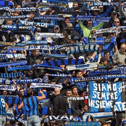 I tifosi nerazzurri in Atalanta-Torino