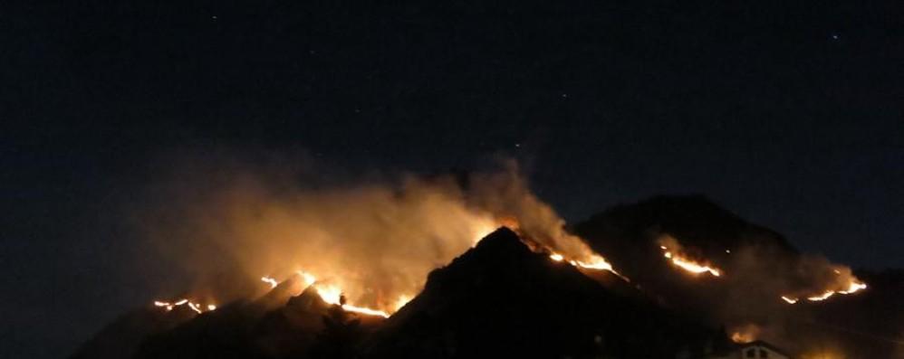 Incendi, moderata criticità in varie aree della Bergamasca