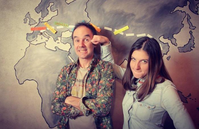 Roberto Picinali e Valeria Melocchi, protagonisti del viaggio lungo la Via della Seta