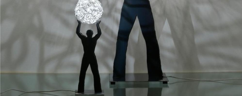 Installazioni nelle piazze e nei negozi Bergamo si veste di luci per l'Expo