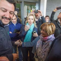 Salvini a Dalmine contro i profughi: «L'ex asilo a chi ne ha davvero bisogno»
