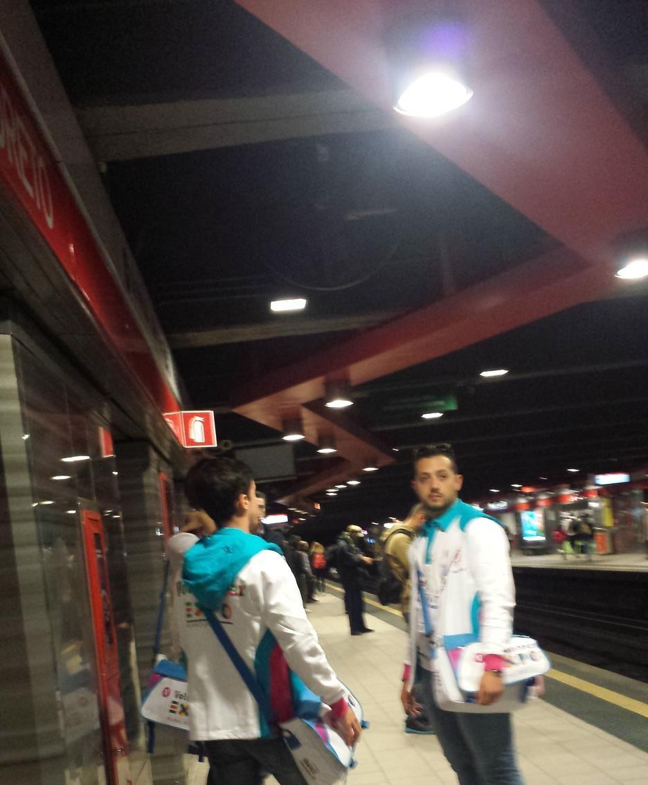 Expo 2015, in metropolitana
