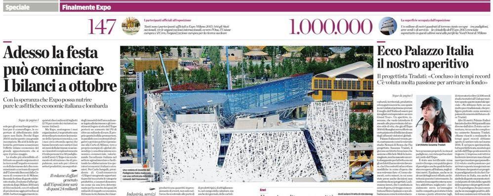 Ed Expo fu: oggi Milano è caput mundi Segui qui in diretta la manifestazione