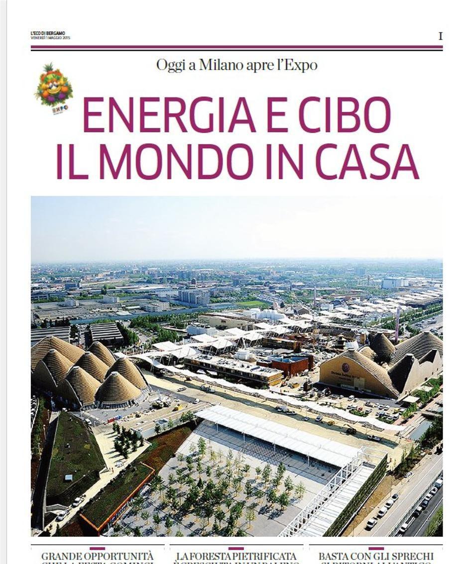 Lo speciale de L'Eco dedicato all'Expo