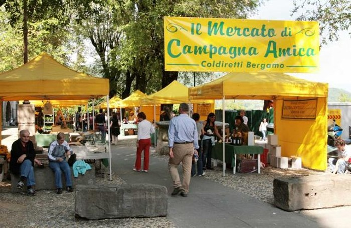 Il mercato di Campagna Amica