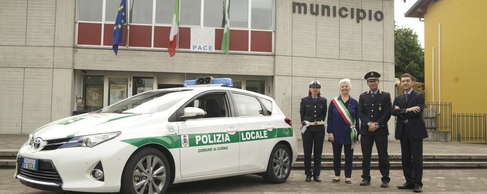 Curno, per l'auto della Polizia locale il Comune sceglie l'ecosostenibilità