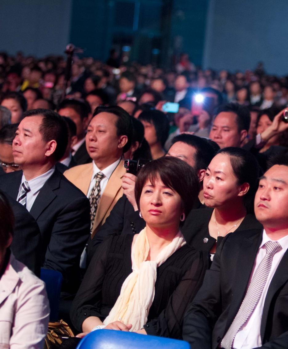 Cinesi a una recente convention alla Fiera di Bergamo