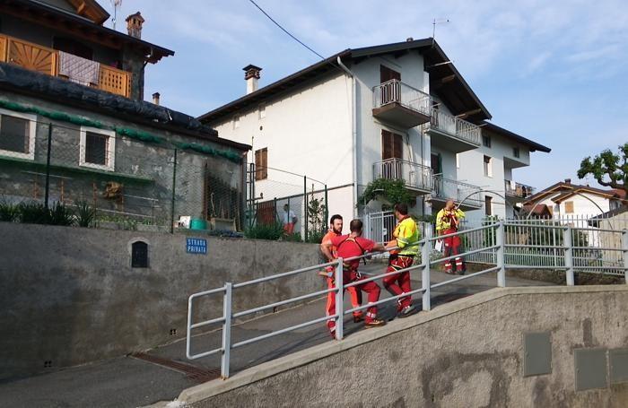 Malore fatale a  Bossico in via Bonomelli