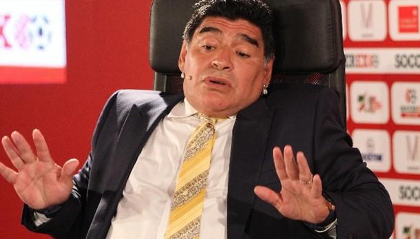 Diffamò Equitalia, Maradona a giudizio