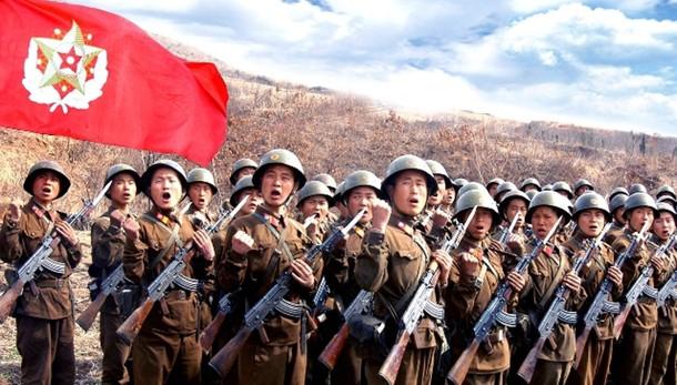 Esercitazioni artiglieria Corea Nord